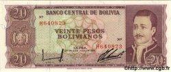 20 Pesos Bolivianos BOLIVIE  1962 P.155a NEUF