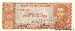 50 Pesos Bolivianos BOLIVIE  1962 P.162 NEUF