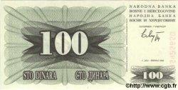 100 Dinara BOSNIE HERZÉGOVINE  1992 P.13a NEUF