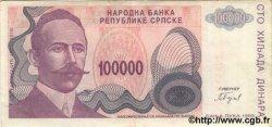 100000 Dinara BOSNIE HERZÉGOVINE  1993 P.151a SUP