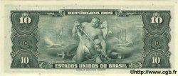 10 Cruzeiros BRÉSIL  1961 P.167a NEUF