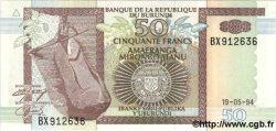 50 Francs BURUNDI  1994 P.36 NEUF
