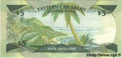 5 Dollars CARAÏBES  1986 P.22d NEUF