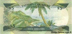 5 Dollars CARAÏBES  1986 P.18l NEUF