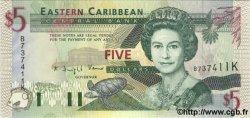5 Dollars CARAÏBES  1994 P.31d NEUF