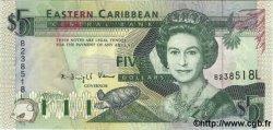 5 Dollars CARAÏBES  1994 P.31e NEUF