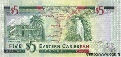 5 Dollars CARAÏBES  1994 P.31h NEUF