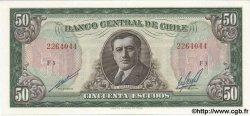 50 Escudos CHILI  1970 P.140 NEUF