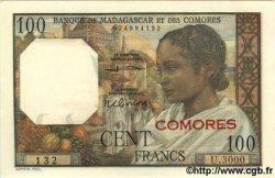 100 Francs COMORES  1963 P.03b NEUF