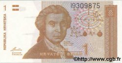 1 Dinar CROATIE  1991 P.16 NEUF