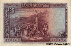 25 Pesetas ESPAGNE  1928 P.074b SPL