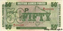 50 New Pence ANGLETERRE  1972 P.M49 NEUF