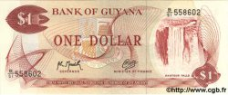 1 Dollar GUYANA  1966 P.21g NEUF