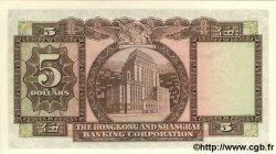 5 Dollars HONG KONG  1973 P.181f NEUF