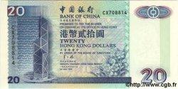 20 Dollars HONG KONG  1997 P.329