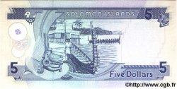 5 Dollars ÎLES SALOMON  1997 P.19 NEUF