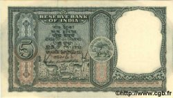 5 Rupees INDE  1957 P.035a