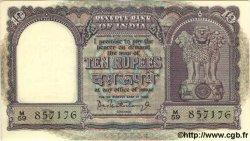 10 Rupees INDE  1962 P.040b NEUF
