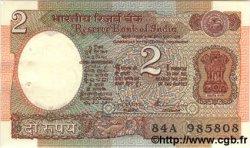 2 Rupees INDE  1984 P.079l SPL