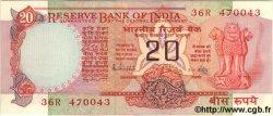20 Rupees INDE  1983 P.082h SPL