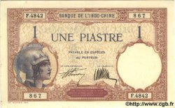 1 Piastre INDOCHINE FRANÇAISE  1927 P.048b pr.NEUF