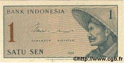 1 Sen INDONÉSIE  1964 P.090 NEUF