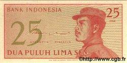 25 Sen INDONÉSIE  1964 P.093a NEUF