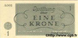 1 Krone ISRAËL Terezin 1943 WW II.701 NEUF