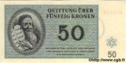 50 Kronen ISRAËL Terezin 1943 WW II.706 NEUF