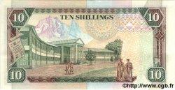 10 Shillings KENYA  1993 P.24c SPL