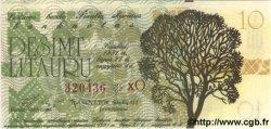 10 Litauru LITUANIE  1991 P.- NEUF