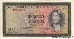 50 Francs LUXEMBOURG  1961 P.51a SPL