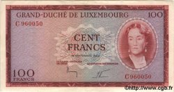 100 Francs LUXEMBOURG  1963 P.52a SPL+