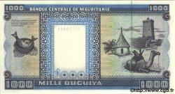 1000 Ouguiya MAURITANIE  1996 P.07h NEUF