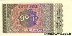 50 Pyas MYANMAR  1994 P.68 NEUF