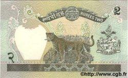2 Rupees NÉPAL  1981 P.29b NEUF