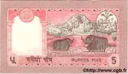 5 Rupees NÉPAL  1987 P.30 NEUF