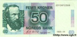 50 Kroner NORVÈGE  1993 P.42c NEUF
