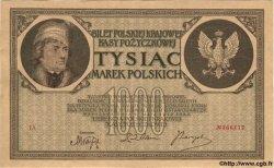1000 Marek POLOGNE  1919 P.22b SPL