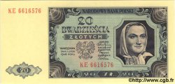 20 Zlotych POLOGNE  1948 P.137a NEUF