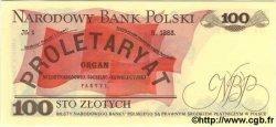 100 Zlotych POLOGNE  1986 P.143c NEUF