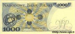 1000 Zlotych POLOGNE  1982 P.146c NEUF