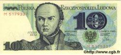 10 Zlotych POLOGNE  1982 P.148a NEUF