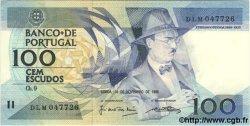 100 Escudos PORTUGAL  1988 P.179 pr.NEUF