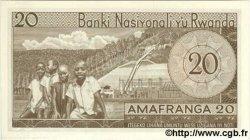 20 Francs RWANDA  1976 P.06e NEUF