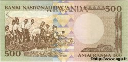 500 Francs RWANDA  1981 P.16a NEUF