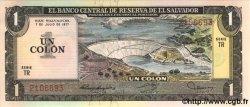 1 Colon SALVADOR  1977 P.125a NEUF