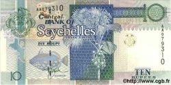 10 Rupees SEYCHELLES  1997 P.36a pr.NEUF