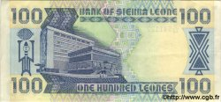 100 Leones SIERRA LEONE  1989 P.18 SUP