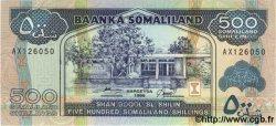 500 Schillings SOMALILAND  1996 P.06b NEUF